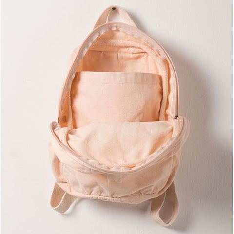 Bobo Choses Pink Hand Trick Backpack - Open View