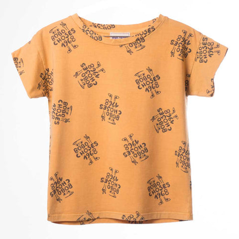Bobo Choses Yellow 1968 T-Shirt - Yellow Lolly