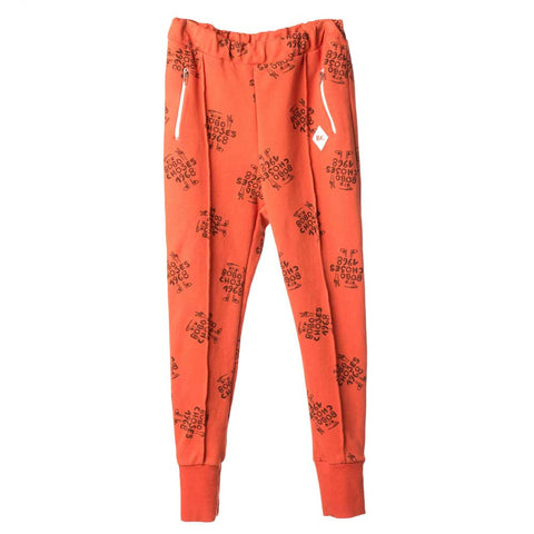 Bobo Choses Red 1968 Tracksuit Trousers - Yellow Lolly