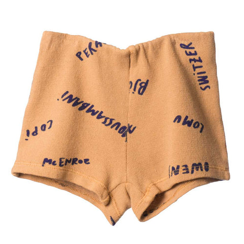 Bobo Choses Yellow Legends Athletic Shorts - Yellow Lolly