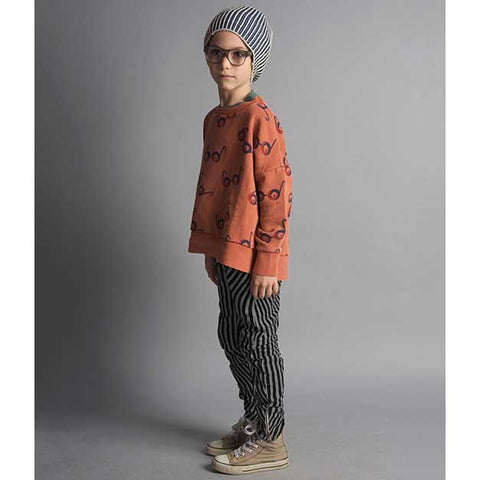 Bobo Choses AW16 Impossible Glasses Oversized Sweatshirt - Boy