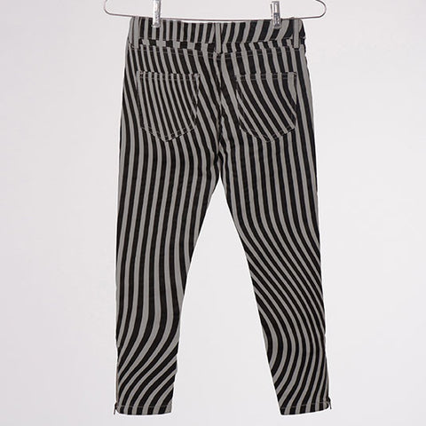 Bobo Choses Grey Hypnotised Slim Fit Trousers - Back View