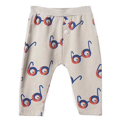 Bobo Choses All Over Glasses Baby Joggers - Yellow Lolly