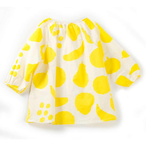 Bobo Choses Yellow Big Fruits Cotton Blouse at Yellow Lolly