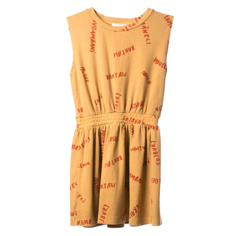 Bobo Choses Yellow Legends Tennis Dress - Yellow Lolly