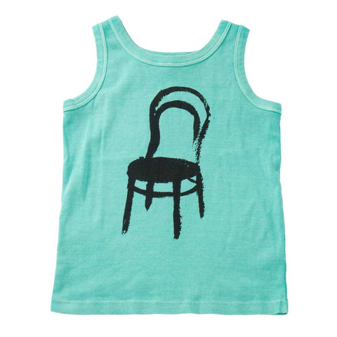 Bobo Choses Baby Tank Top Thonet - Yellow Lolly