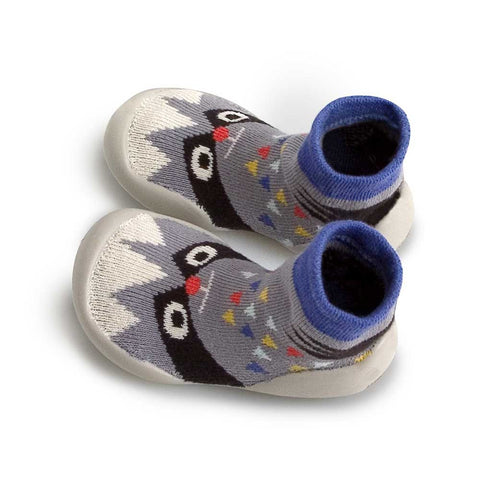 Collégien Raccoon Kids Slipper Socks from Yellow Lolly
