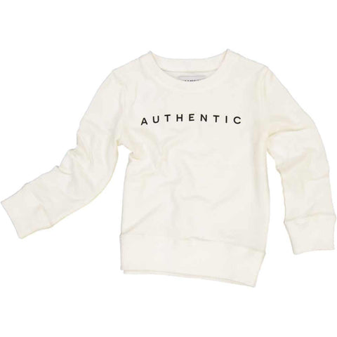 Jax & Hedley Cream Authentic Sweatshirt - Yellow Lolly