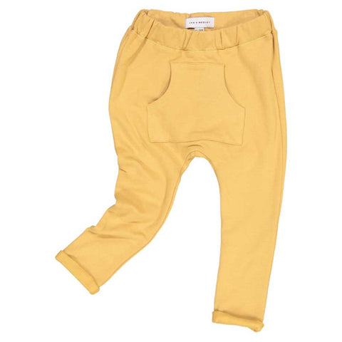 Jax & Hedley Oak Buff Pocket Pants - Yellow Lolly