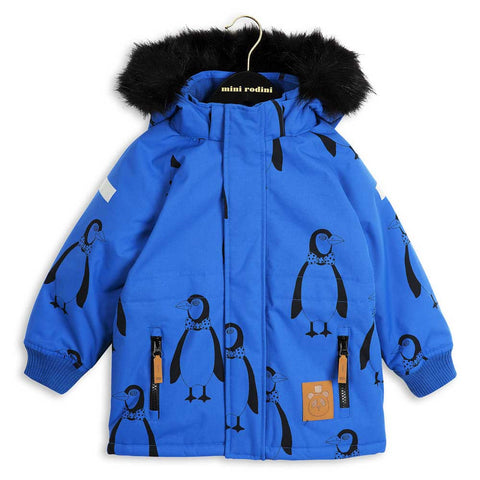 Mini Rodini AW16 Blue Siberia Totem Jacket