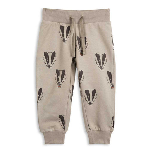 Mini Rodini AW16 Grey Badger Sweat Pants