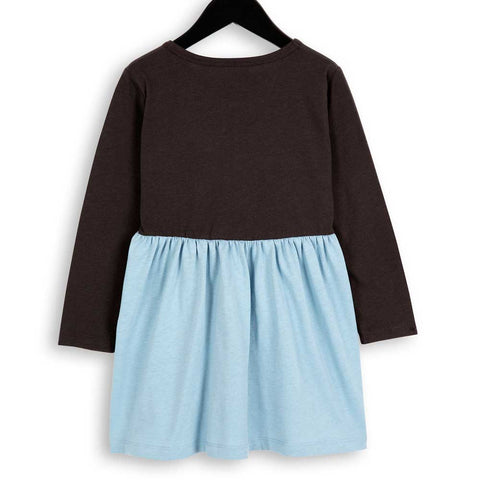 Mini Rodini AW16 M Black and Blue Organic Cotton Dress - Back