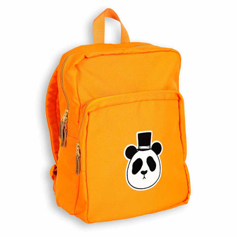 Mini Rodini AW16 Orange Panda Backpack at Yellow Lolly