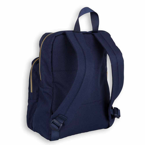 Mini Rodini AW16 Blue Panda Backpack at Yellow Lolly - Back View