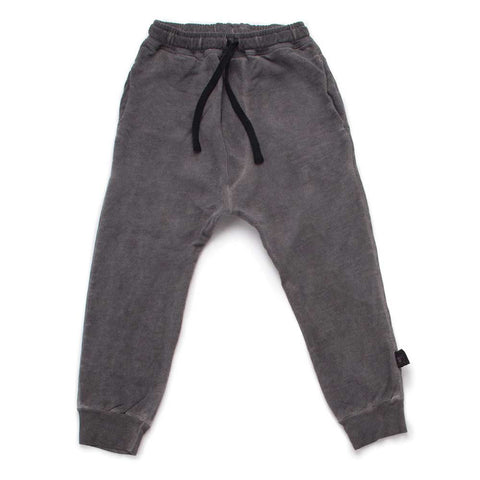 Nununu SS17 Grey Dyed Kids' Riding Pants at Yellow Lolly