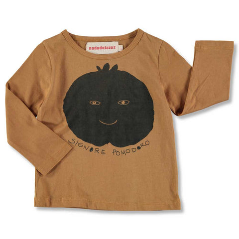 Nadadelazos AW16 Sienna Tomato Long Sleeved T Shirt