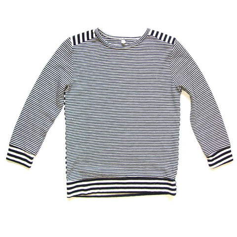 Nico Nico Aries Cosmic Striped Pullover - Yellow Lolly