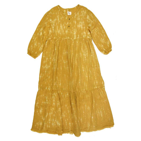 Nico Nico Athena Yellow Speckled Dress - Yellow Lolly