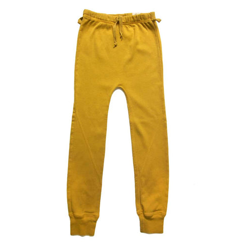 Nico Nico Yellow Ribbed Orion Leggings - Yellow Lolly