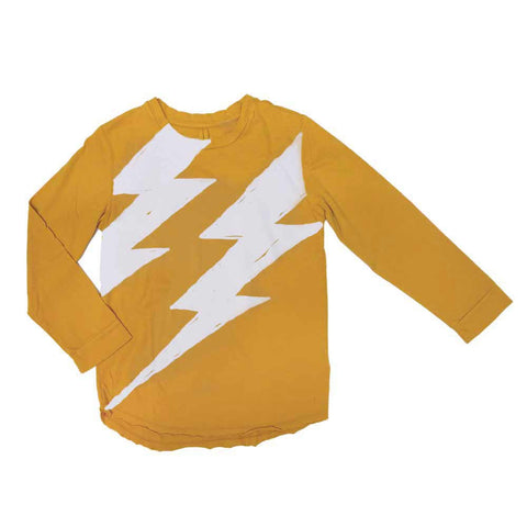 Nico Nico Yellow Flash Long Sleeved T-Shirt - Yellow Lolly