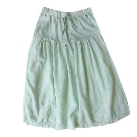 Nico Nico Mint Summer Hemp Skirt - Yellow Lolly
