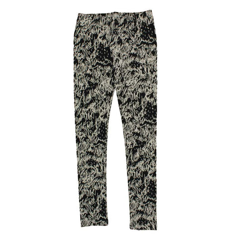 Noé & Zoë Black Scribble Organic Cotton Leggings at Yellow Lolly