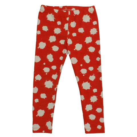 Noé & Zoë AW16 Coral Splash Organic Cotton Baby Leggings at Yellow Lolly
