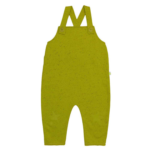 Noé & Zoë AW16 Yellow Melange Baby Salopette Romper at Yellow Lolly