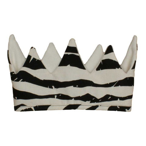 Noé & Zoë Black Mountains Organic Cotton Crown at Yellow Lolly