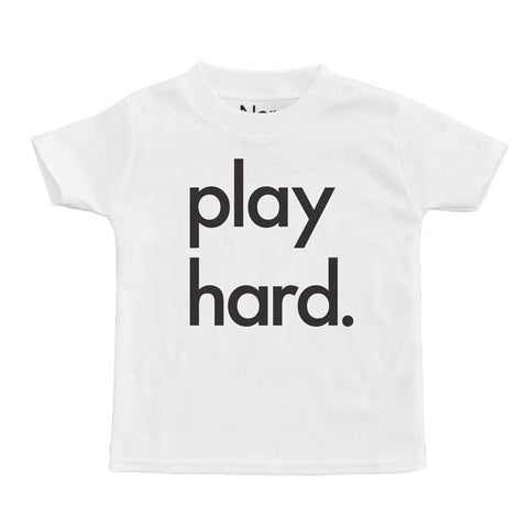 Nor-Folk Play Hard Kids T-Shirt