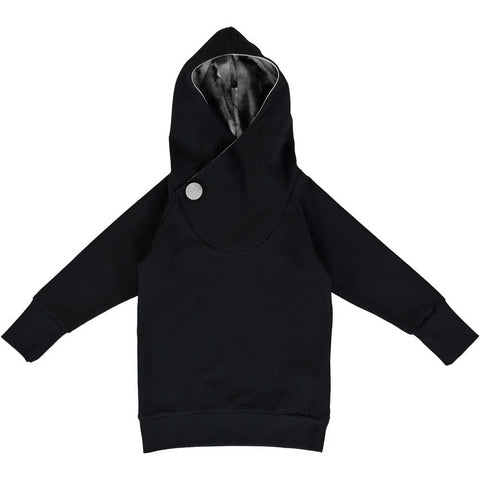 Papu Black Cotton Candy Hooded Sweatshirt - Yellow Lolly