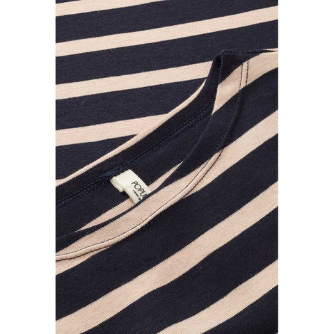Popupshop Navy Rosa Stripe Long Sleeved T-Shirt at Yellow Lolly