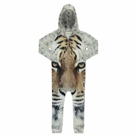 Popupshop Kid's Tiger Hoodie Suit at Yellow Lolly