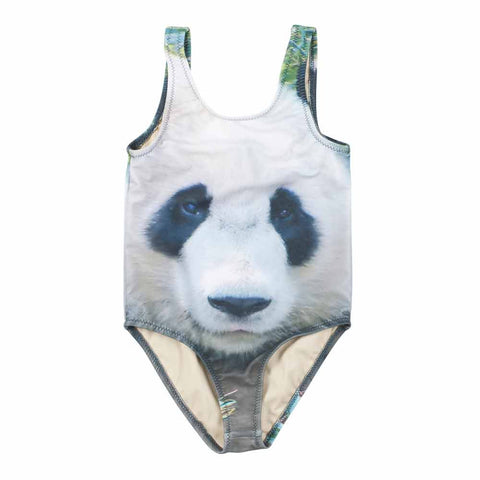 Popupshop Panda Kid's Swimsuit at Yellow Lolly