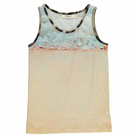 Popupshop Sea Print Kid's Summer Tank Top at Yellow Lolly