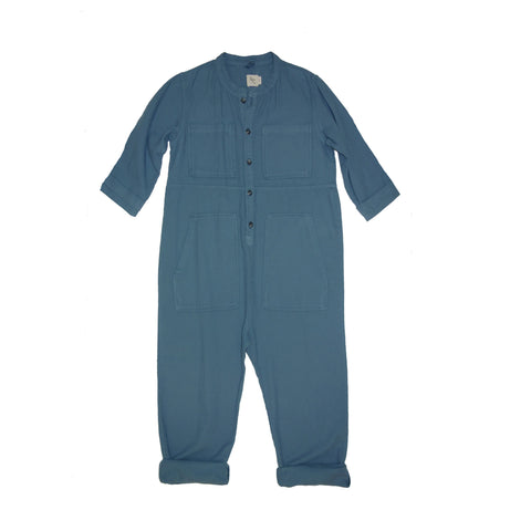 Nico Nico AW16 Blue Saturn Flannel Jumpsuit