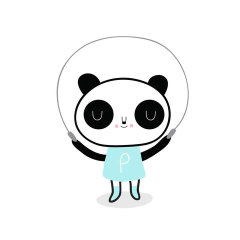 Tattyoo Panda Girl Temporary Kid's Tattoos from Yellow Lolly