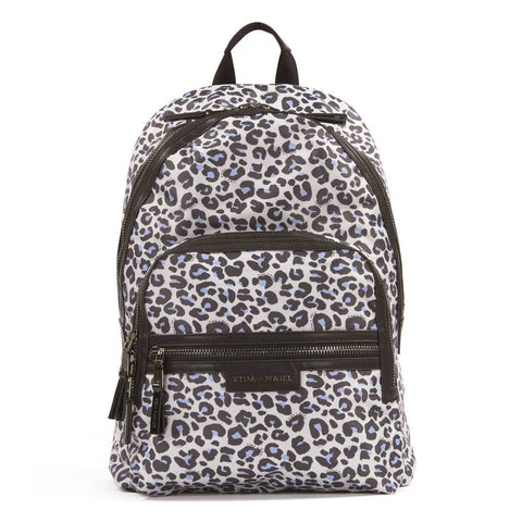 Tiba + Marl Leopard Elwood Baby Change Backpack from Yellow Lolly