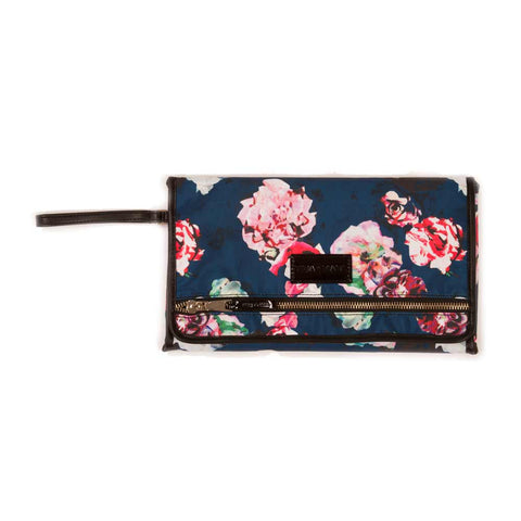 Tiba + Marl Etta Floral Baby Changing Clutch from Yellow Lolly
