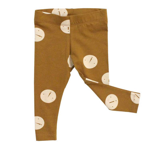Tinycottons AW16 Faces Organic Cotton Leggings at Yellow Lolly