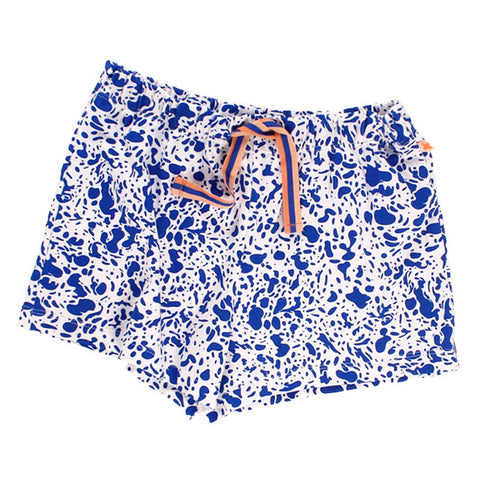 Tinycottons Blue Enamel Shorts at Yellow Lolly