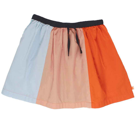 Tinycottons Colour Block Summer Skirt
