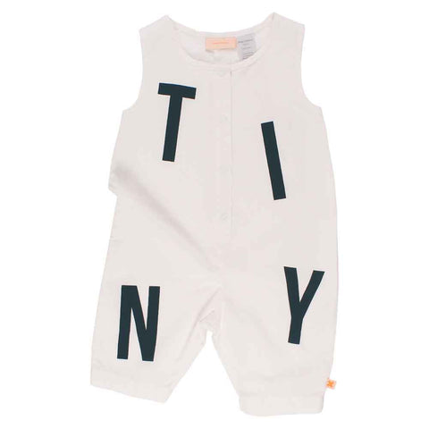 Tinycottons SS17 TINY Cotton Baby Playsuit at Yellow Lolly