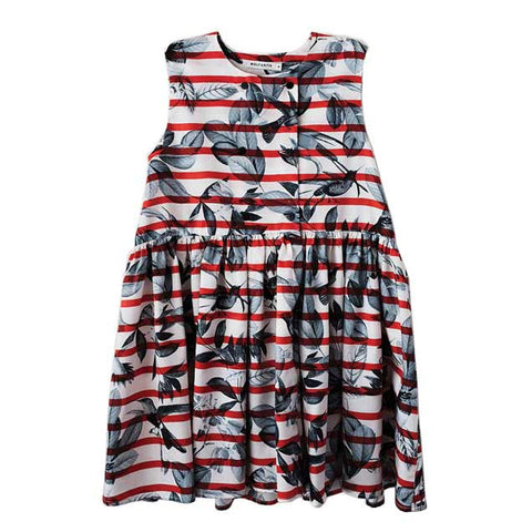 Wolf & Rita Guadalupe Birds Girls Summer Dress