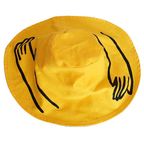 Wolf & Rita Yellow Mains Hat - Yellow Lolly