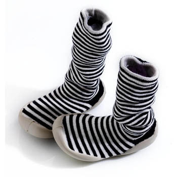 Collégien Long Striped Slipper Socks