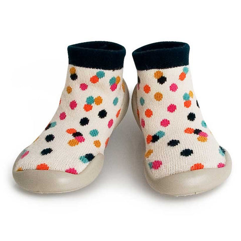 Collégien Confetti Kids Slipper Socks at Yellow Lolly