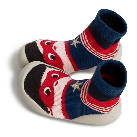 Collégien Superman Kids Slipper Socks at Yellow Lolly