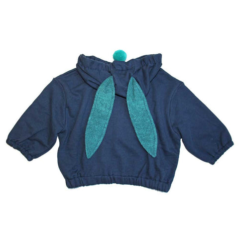 Mini Dressing Alkong Dalkong Hood Jumper - Ears View