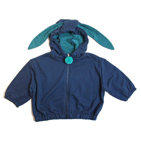 Mini Dressing Alkong Dalkong Hood Jumper - From Yellow Lolly